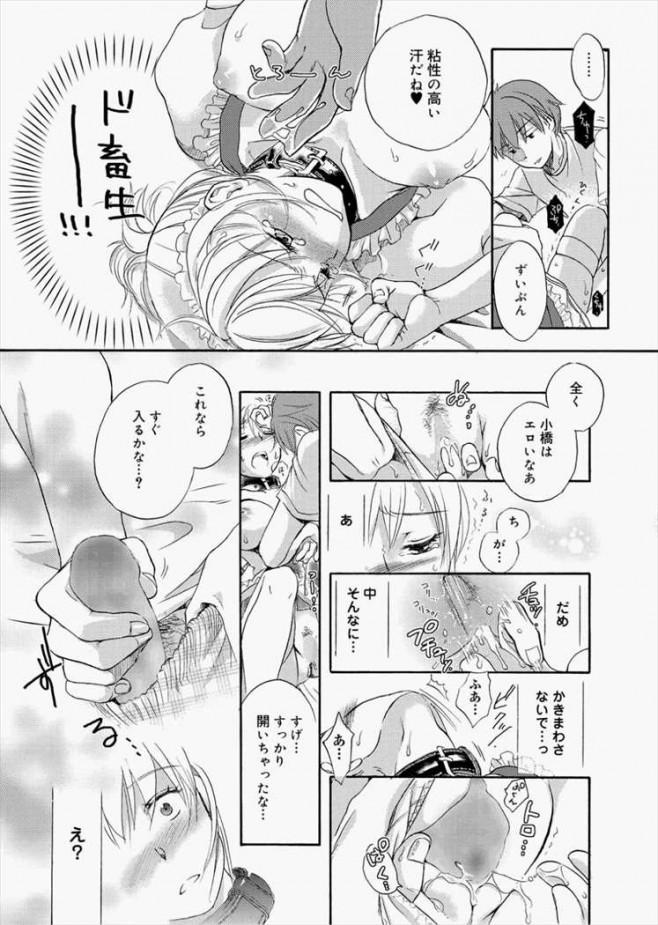 【エロ漫画・エロ同人誌】ドSな男が罰ゲームで巨乳娘を一日メイドにしたらwwwwwww他、ドSとドMのお話たくさんだおwpl547