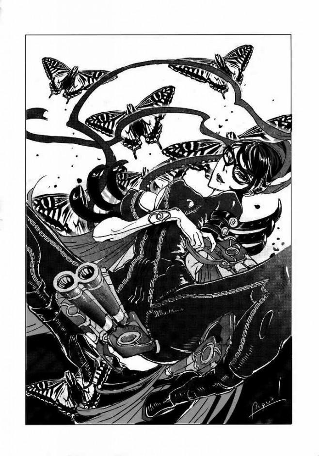 【ベヨネッタ エロ漫画・エロ同人誌】巨乳のベヨネッタがショタやルカ痴女ったりの総集編wwwショタの童貞チンポ手コキやフェラチオしたり顔面騎乗しつつマン汁飲ませパイパンまんこにチンポ咥え中出しさせちゃってるおwww 28