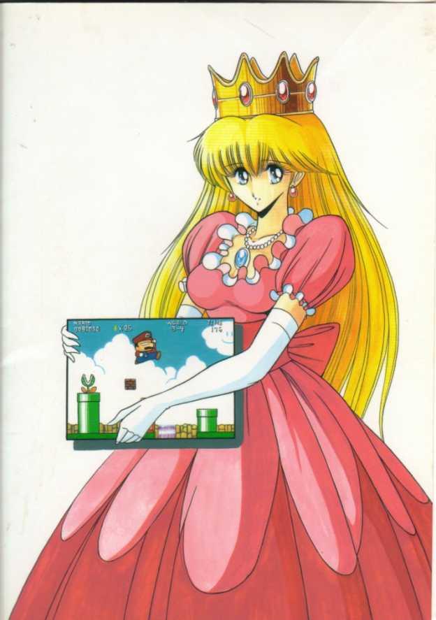 【スーマリ エロ漫画・エロ同人誌】クッパにさらわれて犯されまくってるピーチ姫がまたさらわれたwww 00