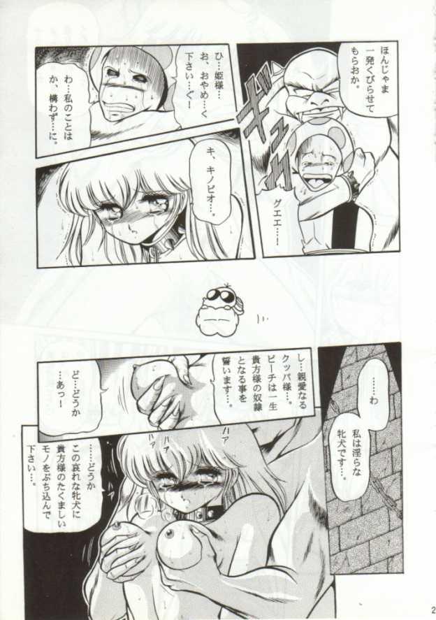 【スーマリ エロ漫画・エロ同人誌】ピーチ姫がクッパに捕われて陵辱レイプされちゃってるンゴw各面クリアするごとにボスに犯されて最後は・・23