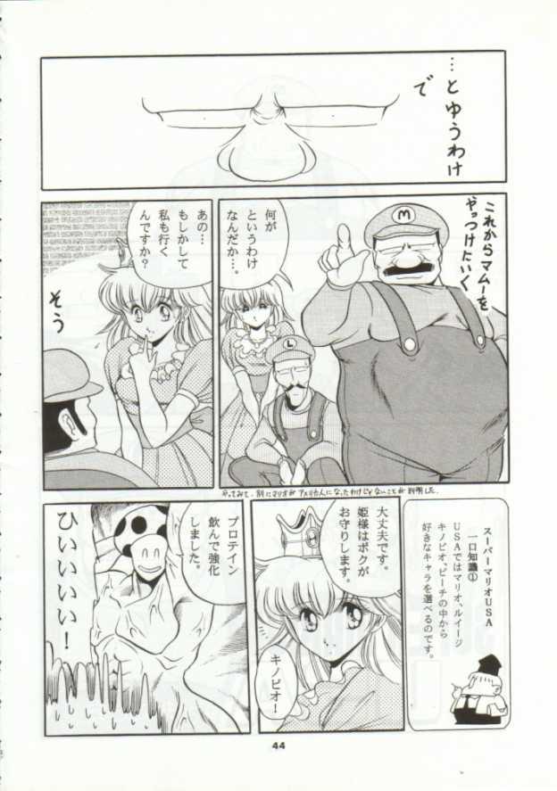 【スーマリ エロ漫画・エロ同人誌】ピーチ姫がクッパに捕われて陵辱レイプされちゃってるンゴw各面クリアするごとにボスに犯されて最後は・・40