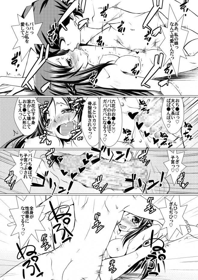 プリキュア エロ漫画・エロ同人誌|六花が父親の悠蔵に撮影されながらエッチしてるンゴw 20_19