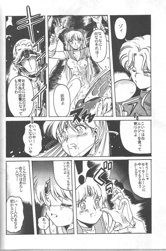セーラーヴィーナスやセーラームーンが怪物にボロボロに犯される!!!!【セーラームーン エロ漫画・エロ同人誌】 41_Pretty_Soldier_Sailor_Moon_the_Minako_030