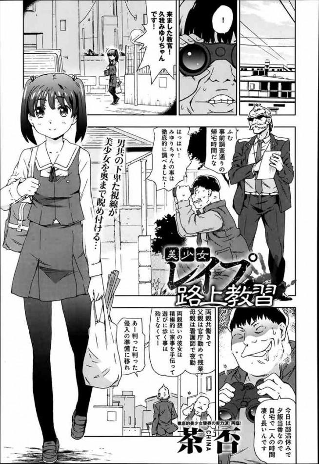 【エロ漫画・エロ同人誌】レイプの仕方を丁寧に教えますwww dl (1)