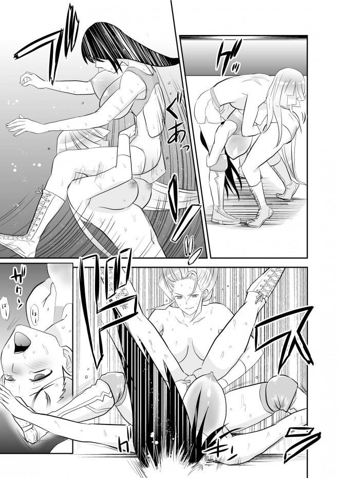 新人巨乳女子プロレスラーが憧れの先輩にキャットファイト調教されてるwエッチなコスチュームでマンコ舐められてるしwww-20