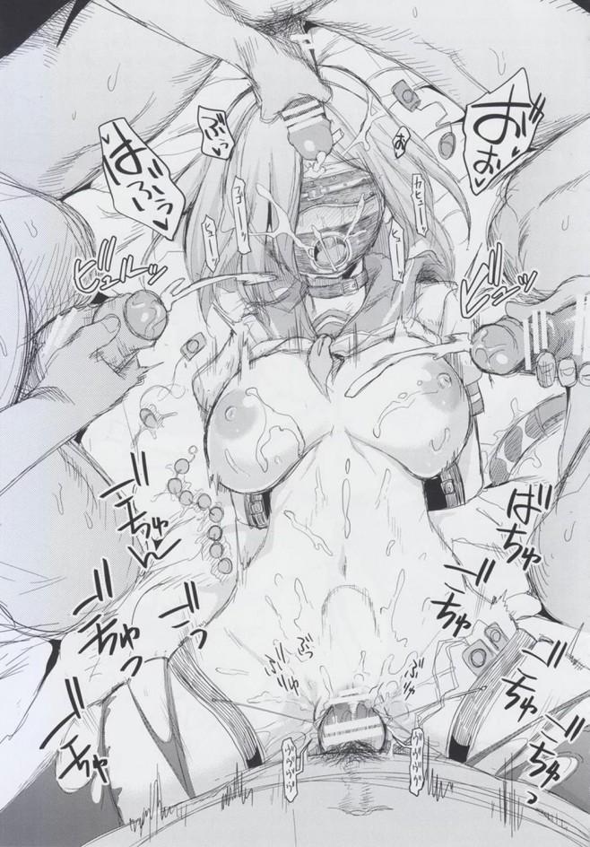 【艦これ エロ漫画・エロ同人】浜風ちゃんに誘惑されてHなことされちゃう♡ (35)
