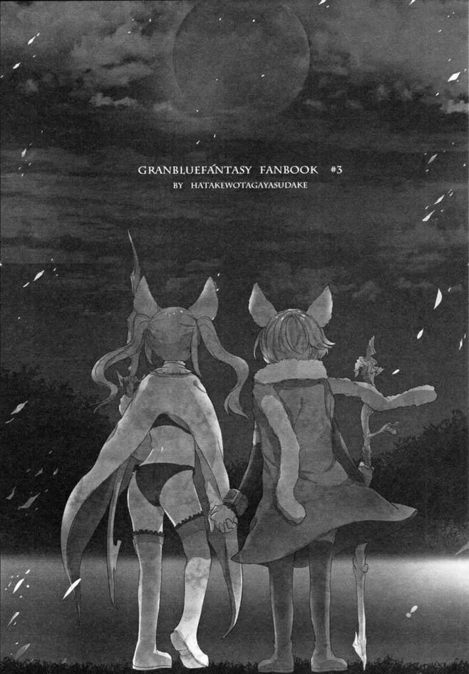【グラブル エロ漫画・エロ同人】ヴィーラとカタリナ、メーテラとスーテラなどなど百合詰め合わせwww (42)
