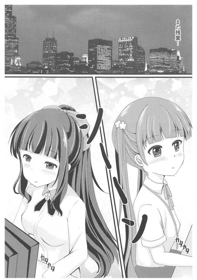 【エロ同人誌 NEW GAME!】ひふみちゃんがエッチになるお薬飲んじゃって・・・【無料 エロ漫画】 (2)
