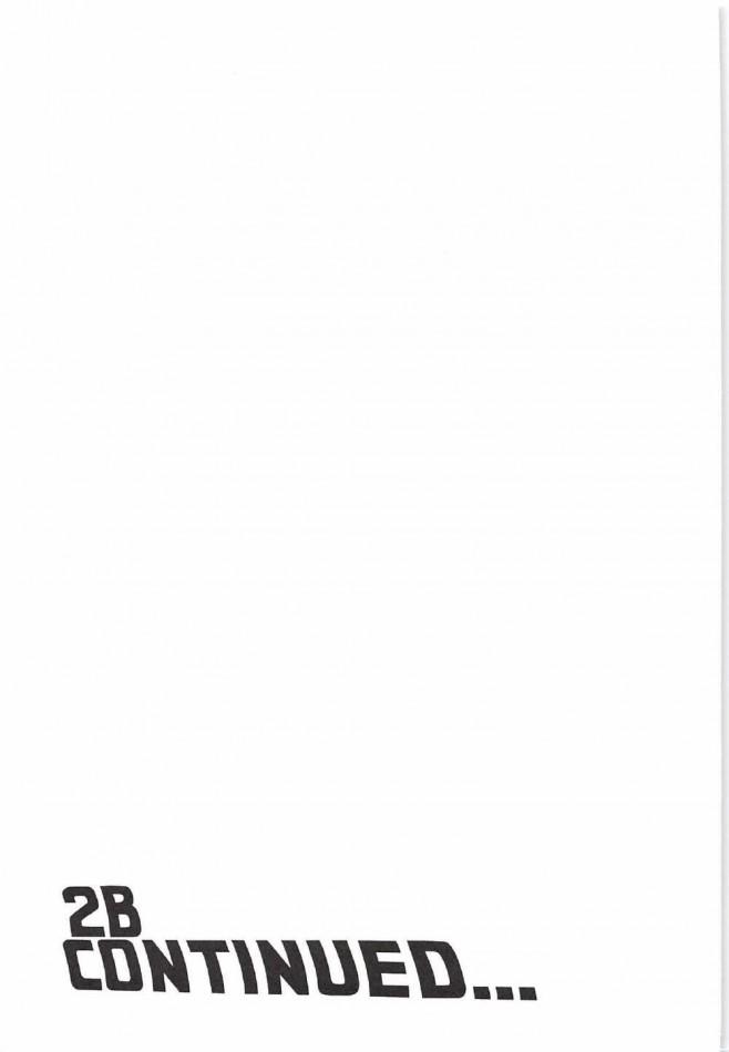 【ニーアオートマタ エロ漫画・エロ同人】アンドロイドとロボットがセックスwww機械でも生々しいカラダに中出しwwww (20)