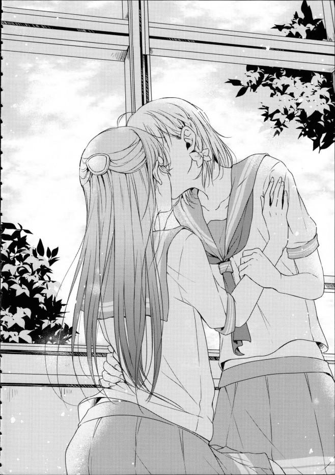 放課後に誰もいない教室の中で二人は愛を育むことにした。梨子ちゃん大好き!【ラブライブ! エロ漫画・エロ同人】 (26)