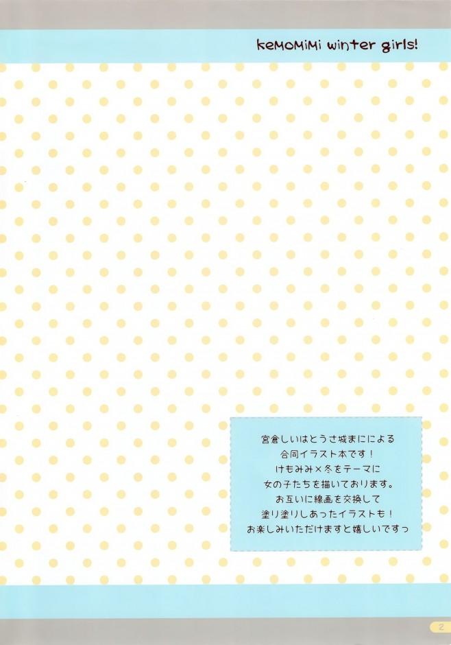 【エロ漫画・エロ同人】ケモミミ好きな方はどうぞ~☆ケモミミガールズイラスト集!!!! (2)