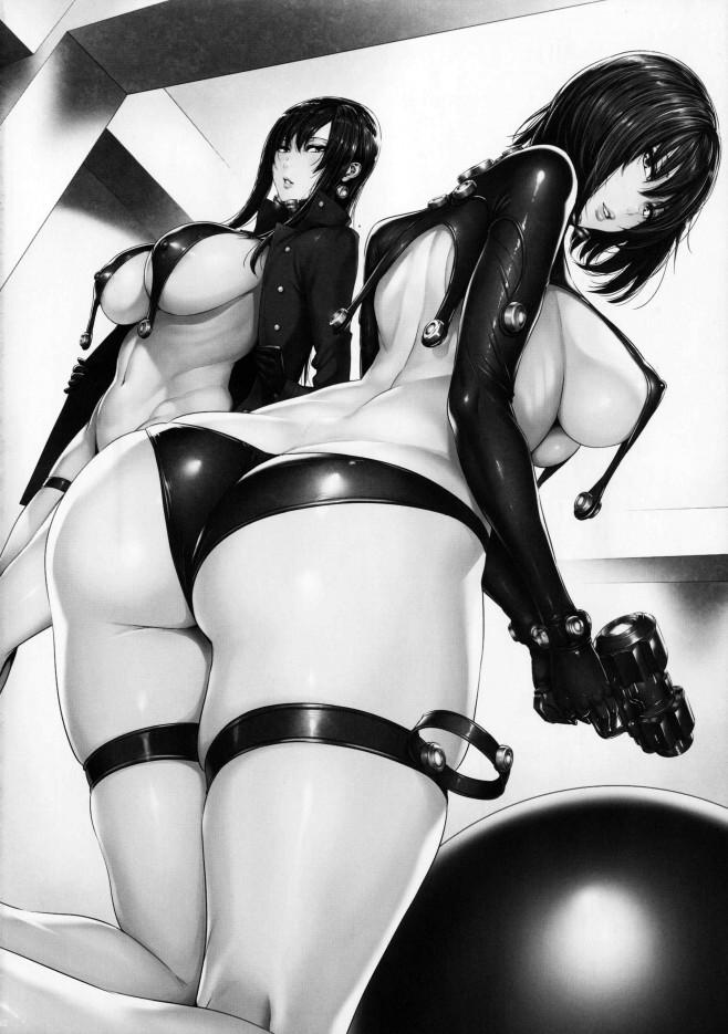 これじゃ・・・ヤツらに従うしかないわ・・・オチンポ・・・くさい・・・あたし知らない男のオチンポを咥えるなんて・・・【GANTZ エロ同人誌・エロ漫画】 (22)