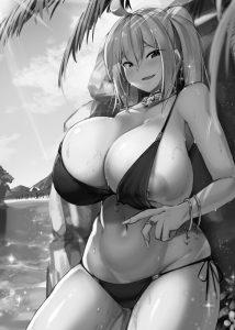 【エロ漫画】童貞くんがビッチな爆乳ギャルと援交して脱童貞☆その後もセフレ状態になり、野外でパイズリにフェラでイカされたりホテルで中出しセックスしまくってるおwwwwwwwwwww
