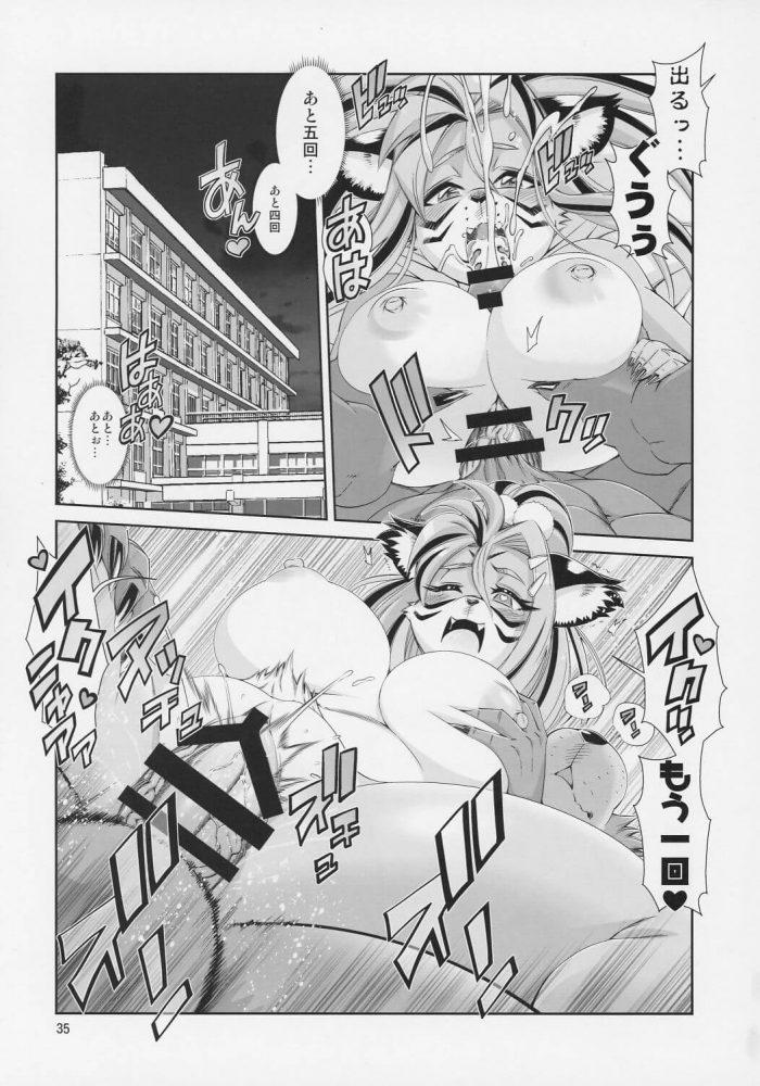 【エロ同人】獣人達の暮らすもう一つの日本のお話ww熊の先生が獣っ娘JKのお母さんと学校でセックスしてるよww放課後には援交してるビッチな生徒と中出しセックス☆他にも生徒とのみだらな行為が6話も~! (36)