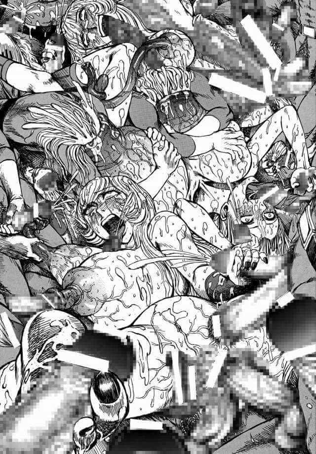 【エロ同人誌 コブラ】クリスタルボーイに拘束されたジェーンが巨根チンポをマンコにぶち込まれて悶絶!!【無料 エロ漫画】 (17)