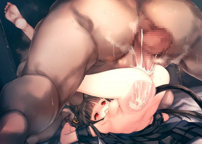【エロ同人誌】触手のキモい化け物に変化してうさ耳少女の膣内に精液を抽入しまくる!!【人丸 エロ漫画】 (65)