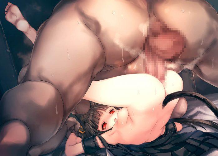 【エロ同人誌】触手のキモい化け物に変化してうさ耳少女の膣内に精液を抽入しまくる!!【人丸 エロ漫画】 (60)