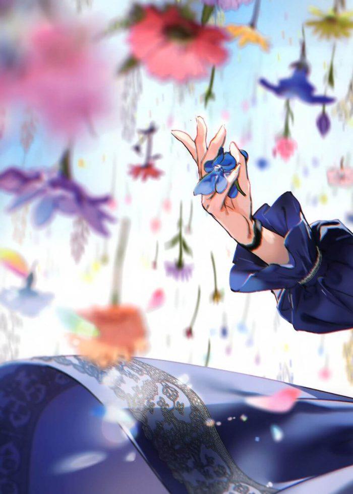 【エロ同人誌】非エロフルカラーイラスト集。JKが雨の中で傘をさして雨が降るときだけ死んだ生き物を蘇らせたり…【atelier Tiv artworks エロ漫画】 (6)