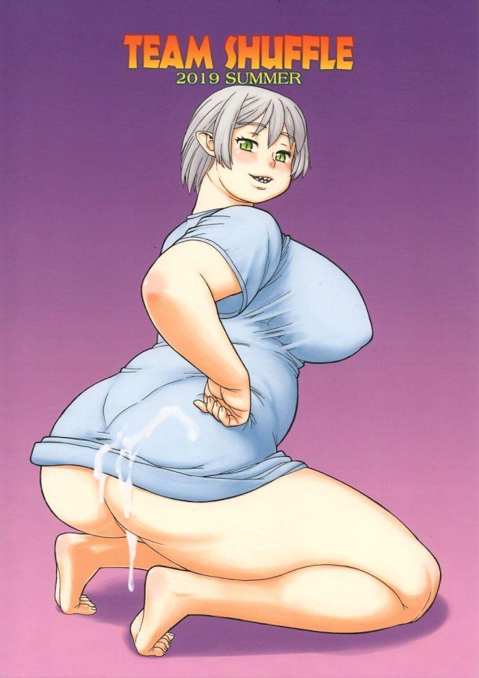 【エロ同人誌】爆乳女がレズセックスで中出ししまくって、リョナの爆乳っ娘ともセックスしちゃうwww【TEAM SHUFFLE 及び P商会 エロ漫画】 (2)