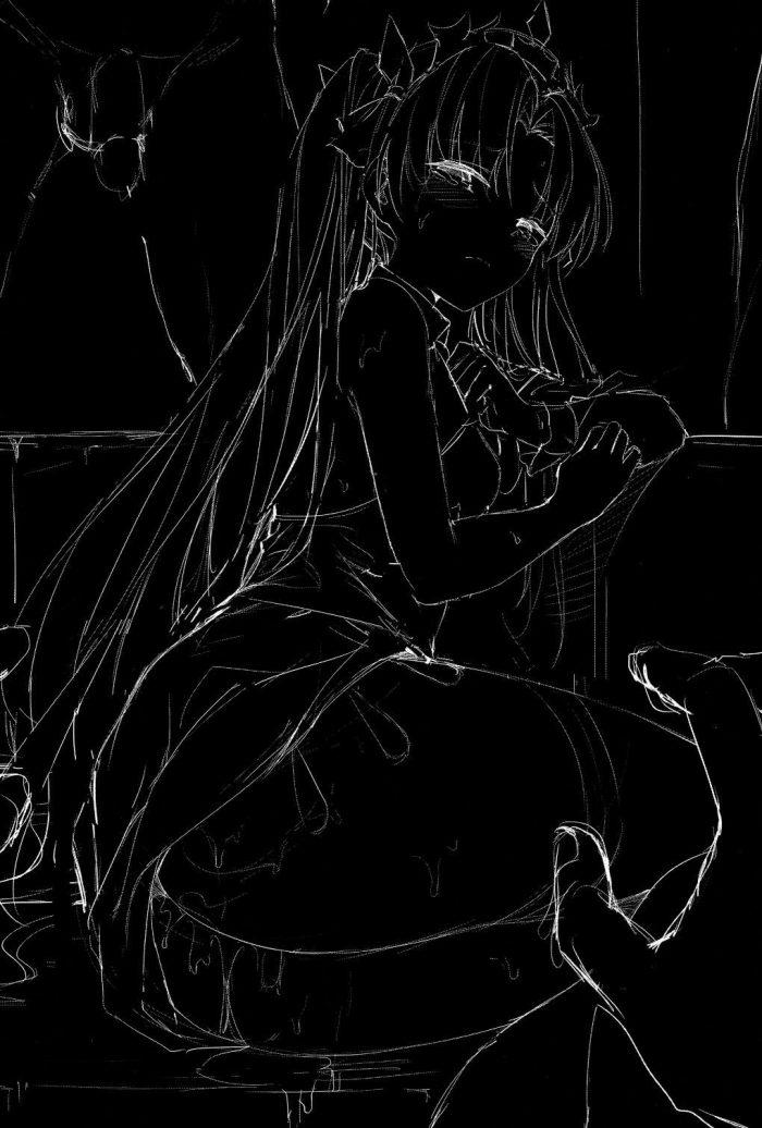 【エロ同人 FGO】エレシュキガルが複数プレイでハメ撮りされてアナルファックまでしちゃうアブノーマルなFGO作品。【無料 エロ漫画】 (2)