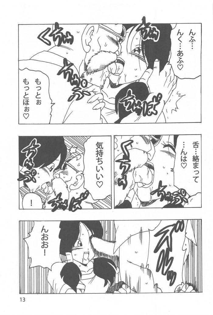 【エロ同人 DB】武術を習いにカメハウスを訪ねたビーデルが亀仙人と中出しセックス!【無料 エロ漫画】 (14)