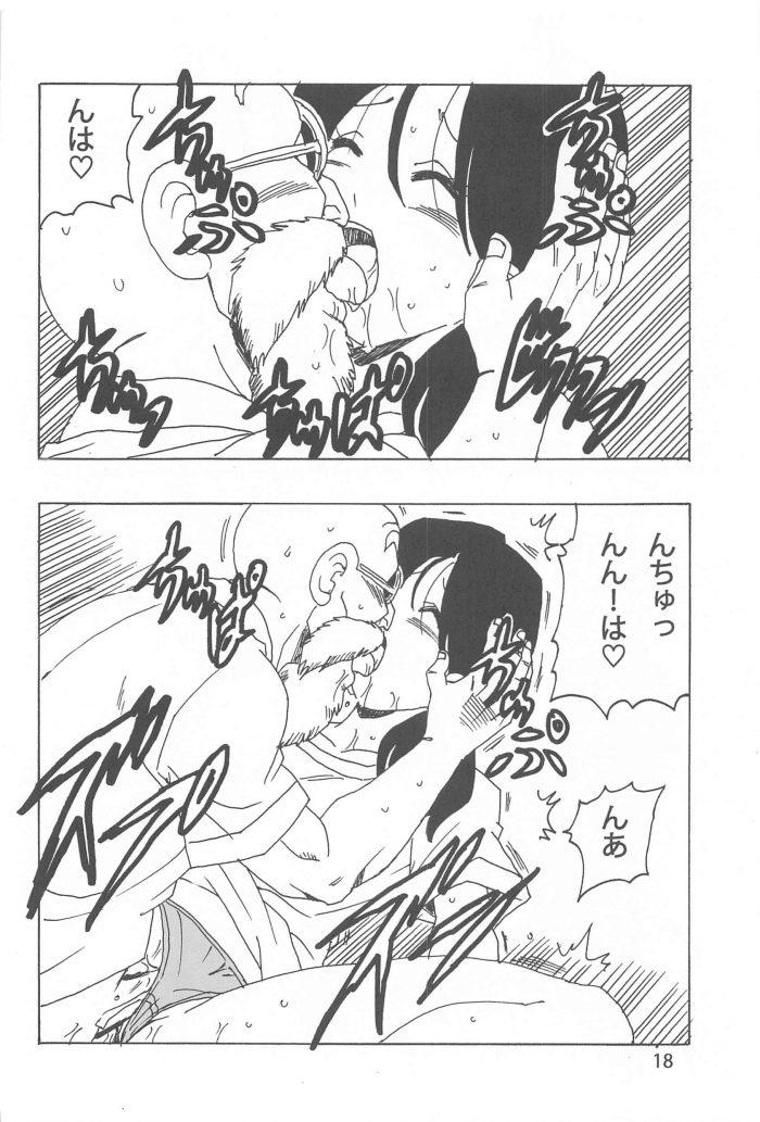 【エロ同人 DB】武術を習いにカメハウスを訪ねたビーデルが亀仙人と中出しセックス!【無料 エロ漫画】 (19)