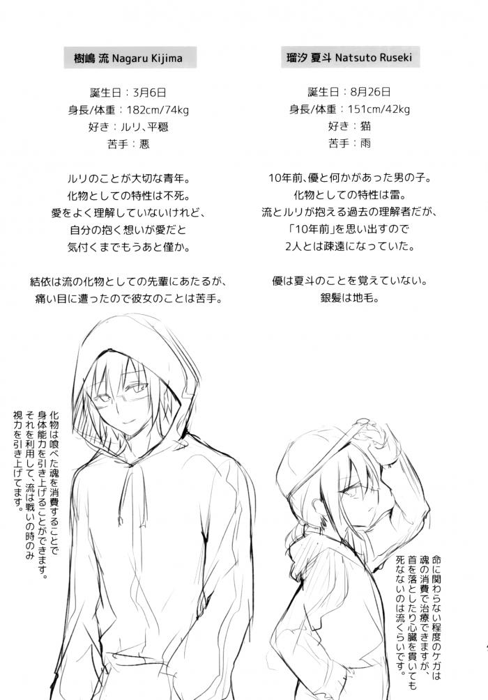 【エロ同人誌】人外になってしまった制服JKとロリ少女と少年たちの非エロストーリー。【無料 エロ漫画】 (41)