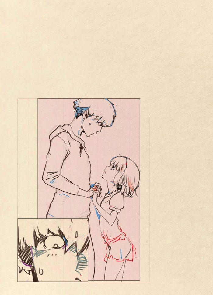【エロ同人誌 前半】浪人生の男がドMの変態だった義妹に誘われフルカラーでセックスする!【無料 エロ漫画】 (48)