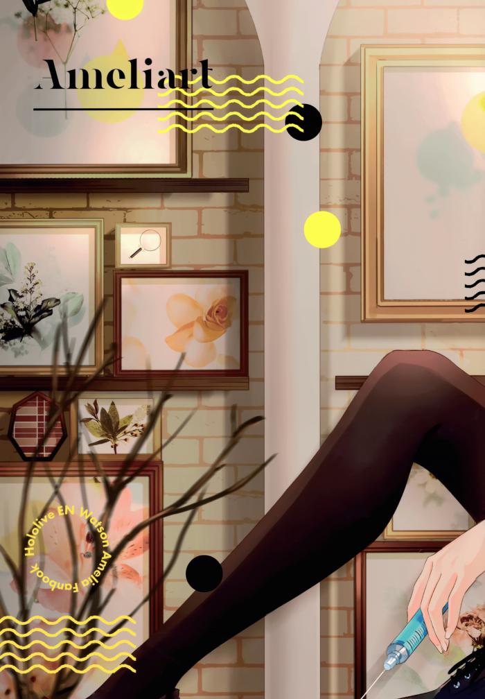 【エロ同人 バーチャルYouTuber】ワトソン・アメリアの可愛さを存分に引き出した非エロフルカラーイラスト集。【無料 エロ漫画】 (17)